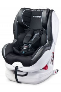 Autosedačka CARETERO Defender Plus Isofix black 2016
